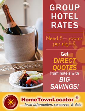 Group Hotel Rates - Need 5+ Rooms per night? - Get Direct Quotes from hotels with Big Savings!